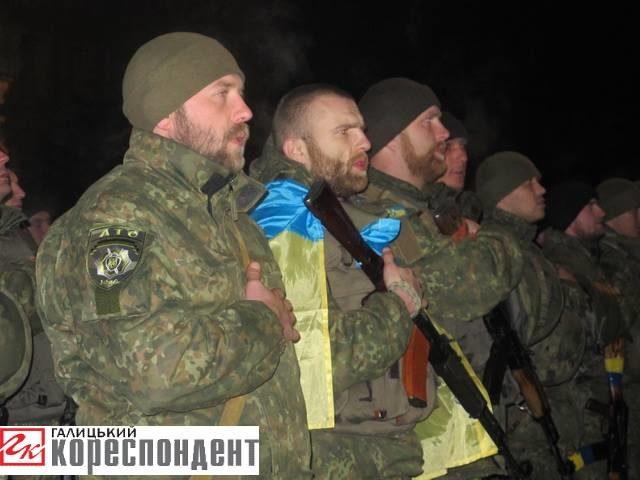 Із зони АТО повернулися 95 міліціонерів Прикарпаття (ФОТО)