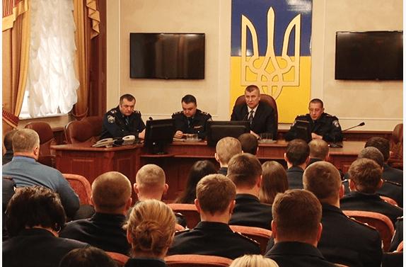 Франківські міліціонери вшанували Героїв Небесної сотні