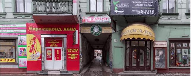 Франківцям показали, як могла б виглядати вулиця Січових Стрільців без засилля реклами (ВІДЕО)