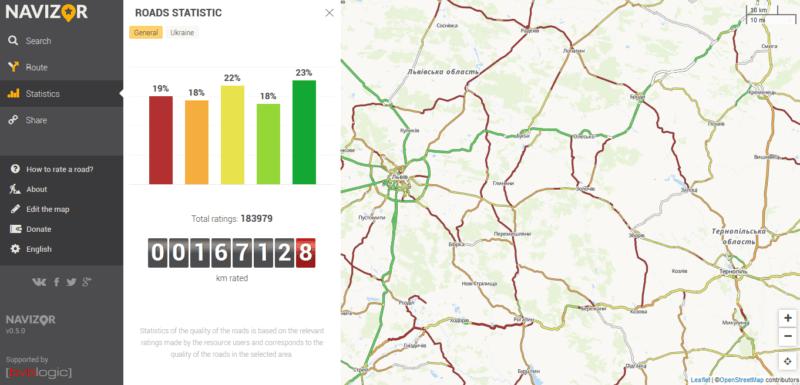 Франківський стартап допомагає обрати маршрут з кращою дорогою мешканцям 17 країн