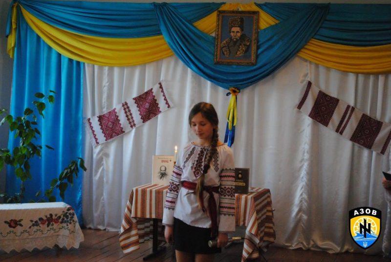 «Азовці» зустрілися із мешканцями Майдану