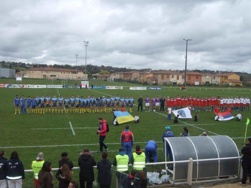 Івано-франківські регбісти допомогли українцям перемогти сербів на чемпіонаті Європи