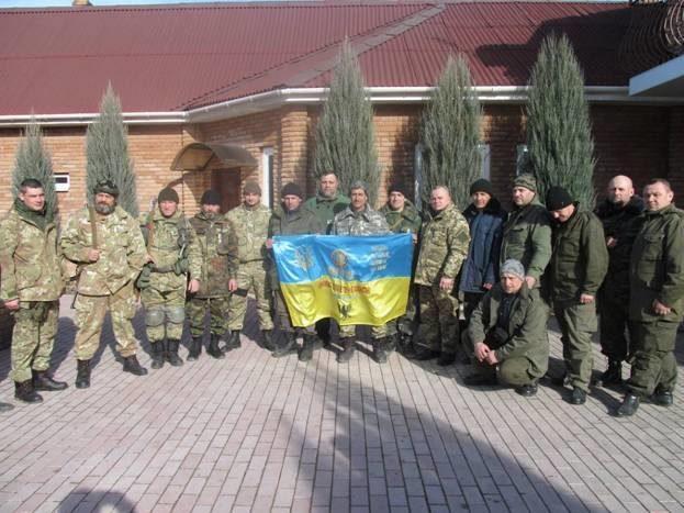 Воїни-афганці із Прикарпаття повернулися з Луганської області. Їздили туди з волонтерською місією