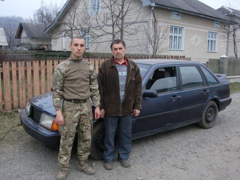 Мешканець Прикарпаття віддав свій VOLVO для потреб 128-ї бригади. Це вчинок гідний поваги – волонтери