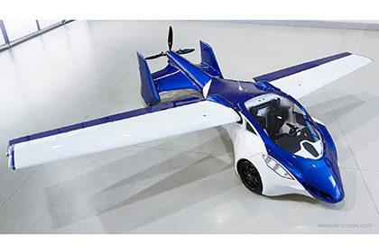 У 2017 році почнеться масовий випуск літаючих автомобілів (відео)