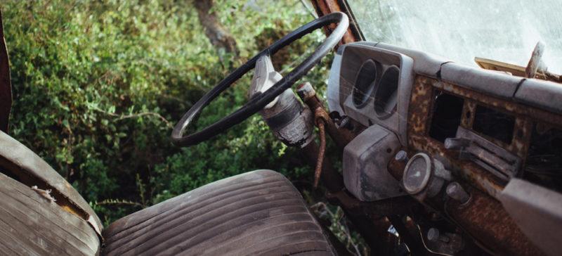 Франківець викрав старий неробочий автомобіль