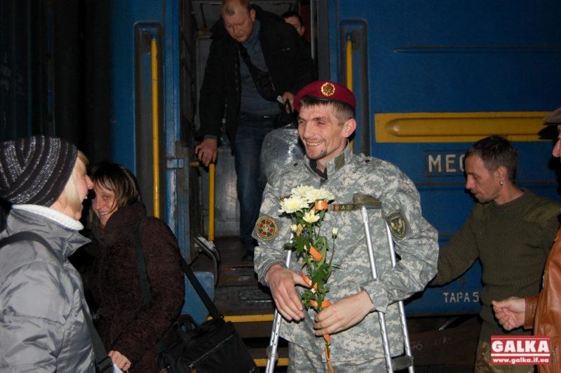 На реабілітацію до Франківська приїхав учасник страшної аварії під Артемівськом (ФОТО)