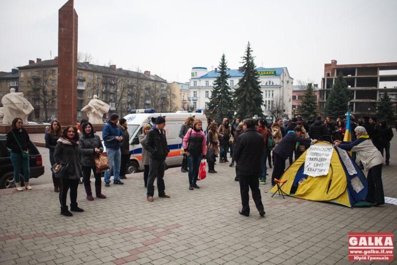 Мітинг під ОДА-3142