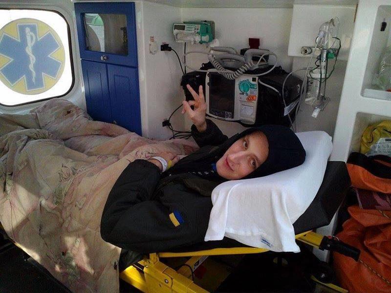 Поранений франківський боєць вже відпочиває у німецькій клініці (ФОТОФАКТ)