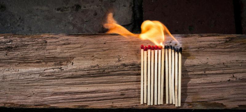 На пожежі загинув літній прикарпатець