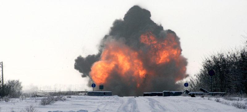 У Брюсселі сталися вибухи, згоріли автомобілі (ВІДЕО)