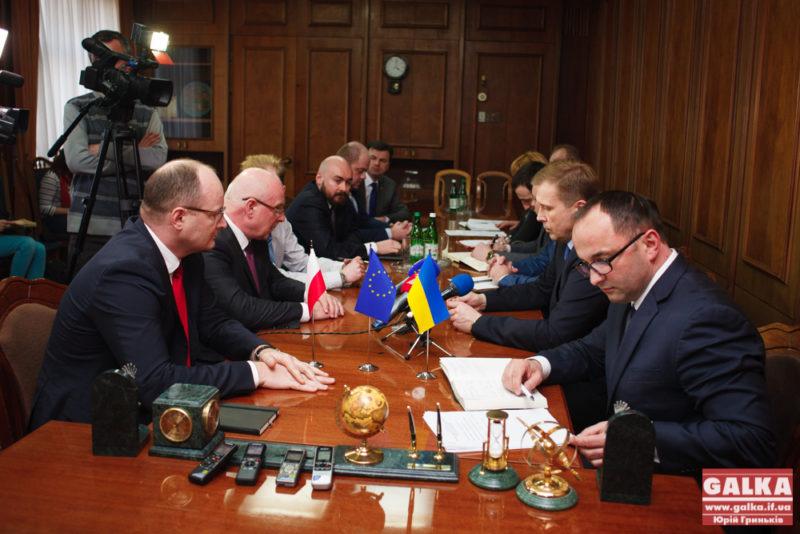 Польські інвестори зацікавилися підприємствами Калуша (ФОТО)