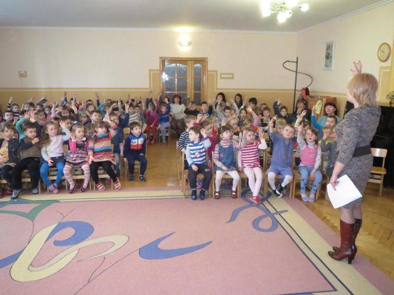 Вихованців дитсадка навчали, як діяти в надзвичайних ситуаціях