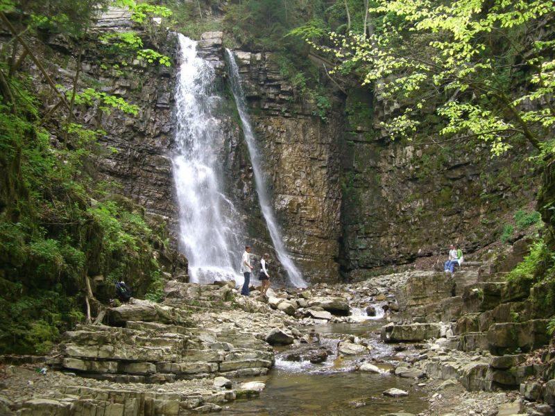 Манявський водоспад став пам'яткою природи загальнодержавного значення