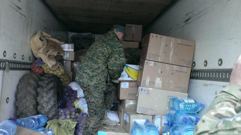Коломияни відправили чергові чотири тонни допомоги бійцям в АТО (ВІДЕО)