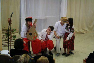 Франківські студенти та школярі показали виставу про кохання Тараса Шевченка