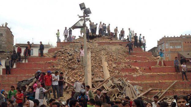 Мандрівник з Івано-Франківська став очевидцем руйнівного землетрусу в Непалі