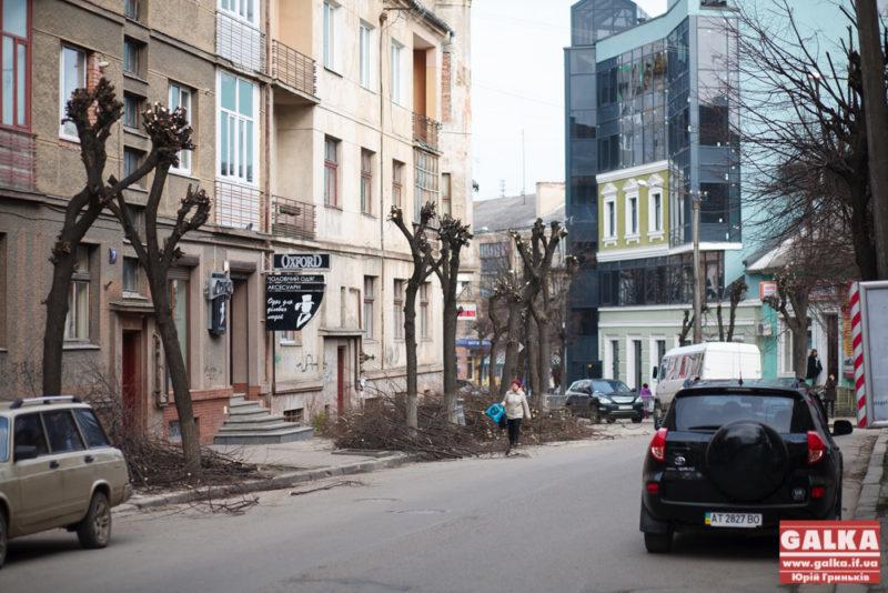 Комунальники, обрізання дерев, порядок-5350