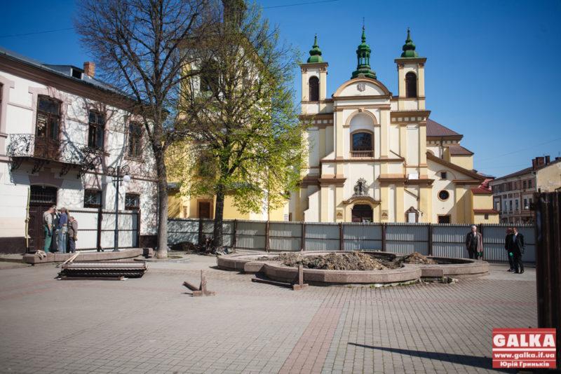 У Франківську готують місце під пам'ятник Андрею Шептицькому (ФОТО)