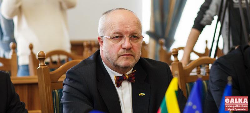 Литовці, міністр оборони Литви, Юозес Олекас, ОДА-7493