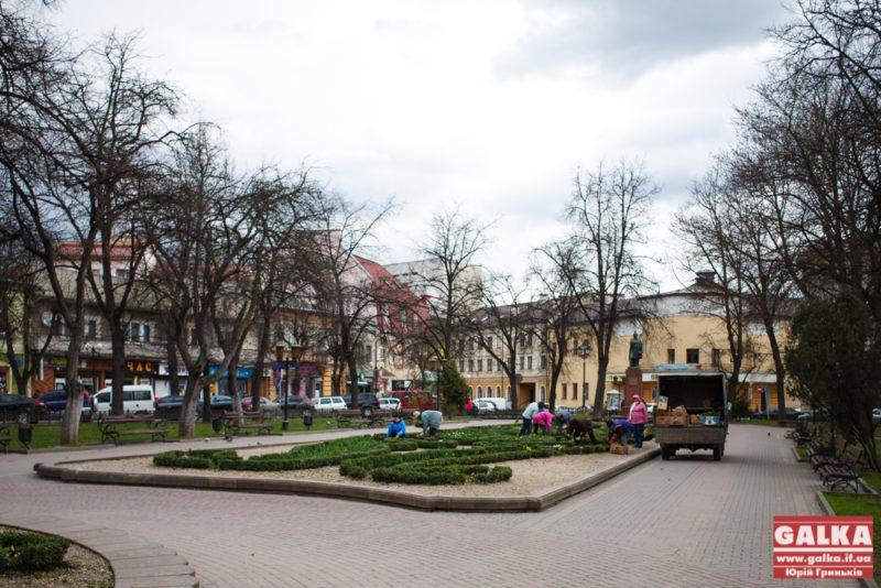 Центр Івано-Франківська планують перекрити на півроку після Дня міста