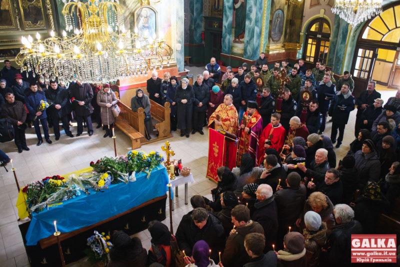 Похорон, траур, Роман Грицик, Іловайськ, загиблий-5275