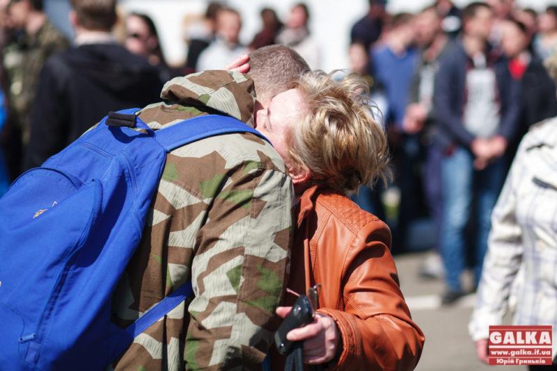 В Івано-Франківську стартував призов на строкову службу
