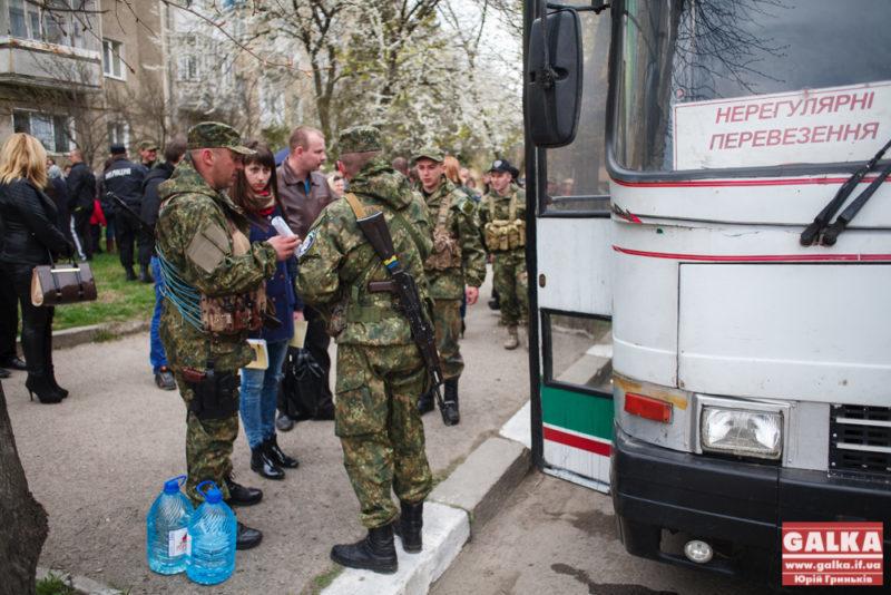 П'ята хвиля мобілізації забрала до війська вже понад 20 іванофранківців
