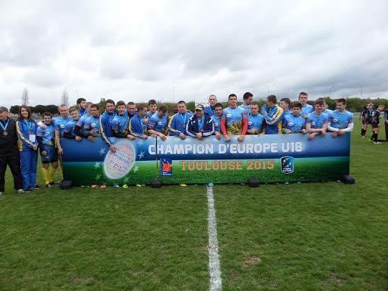 Франківські регбісти взяли участь у переможному матчі в Тулузі