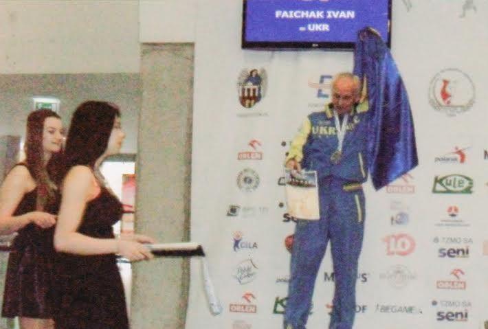 Франківський ветеран привіз медалі з чемпіонату Європи