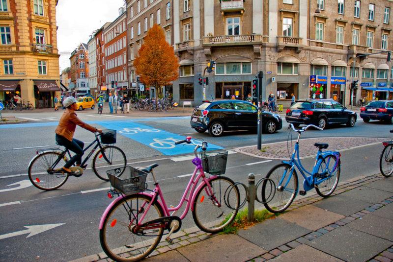велосипед, Копенгаген