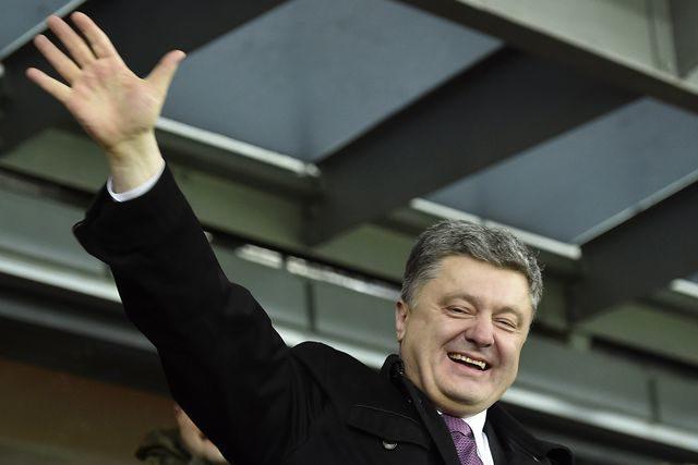 В російському місті Шахти відкрили пам'ятник Порошенкові (ФОТОФАКТ)