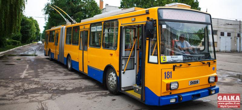 Проїзд у тролейбусах в Івано-Франківську подорожчає у кінці серпня