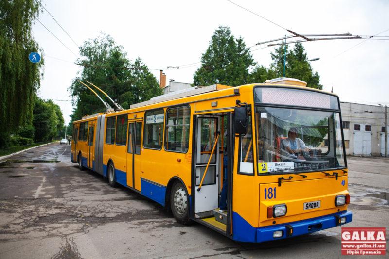 Франківці хочуть їздити до Обласної клінічної лікарні тролейбусом
