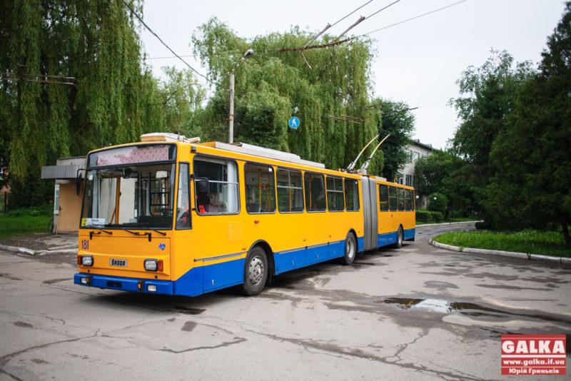 Франківські школярі від Покрови їздитимуть у тролейбусах без обмежень безкоштовно