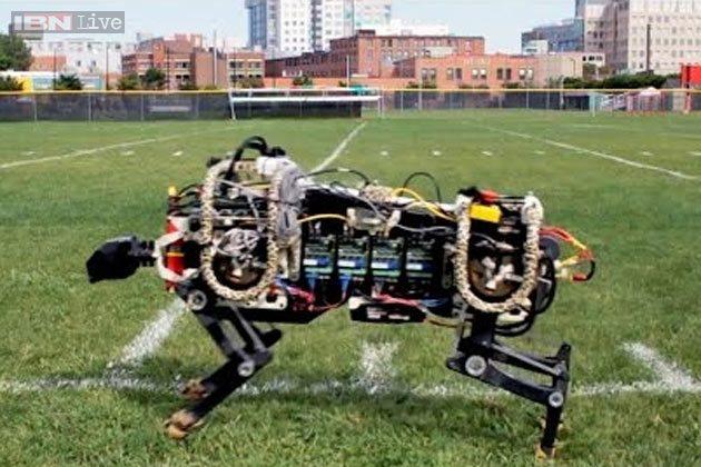 Вчені створили першого чотирилапого робота, здатного самостійно бігати і одночасно стрибати (ВІДЕО)
