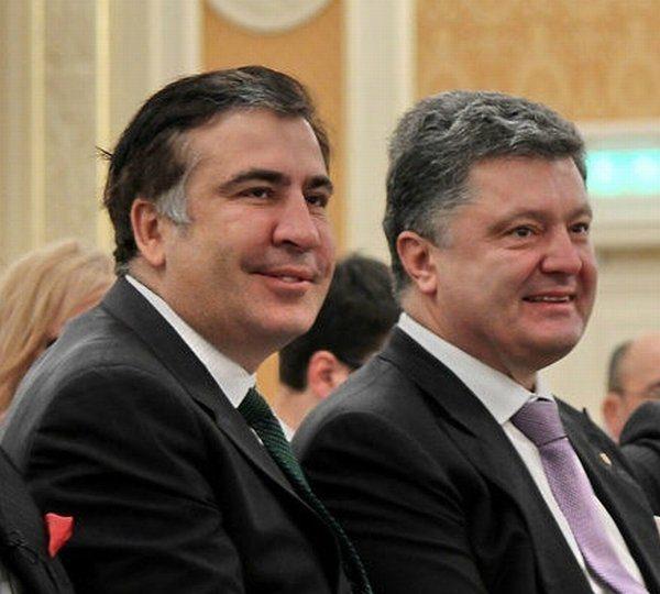 Порошенко представить Саакашвілі на посаду голови Одеської ОДА