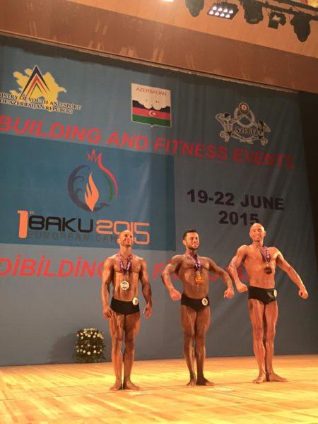 Бодібілдер з Прикарпаття Федір Хашалов здобув золото у Баку (ФОТОФАКТ)