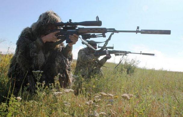 Міноборони показало фото навчань снайперів десантних військ (ФОТО)