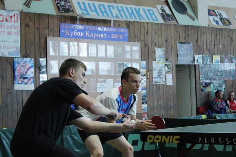 Чемпіонат області з настільного тенісу визначив найсильнішу команду Прикарпаття (ФОТО)