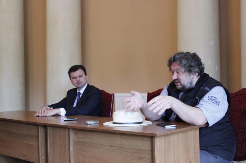 Влад Троїцький обговорив з іванофранківцями майбутнє палацу Потоцьких