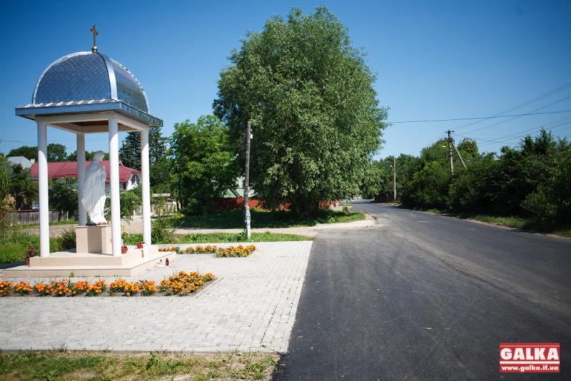 У приміському селі проклали майже кілометр нової дороги (ФОТО)