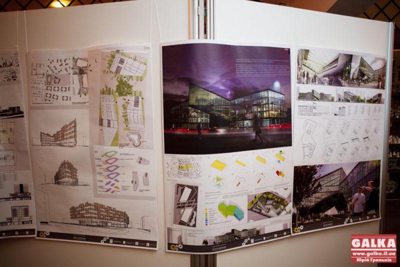 Франківцям показали, як може виглядати громадський комплекс між вулицями Чорновола і Коновальця (ФОТО)