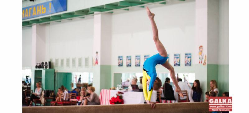 Олімпійські надії України – юні гімнастки змагаються в Івано-Франківську (ФОТО)