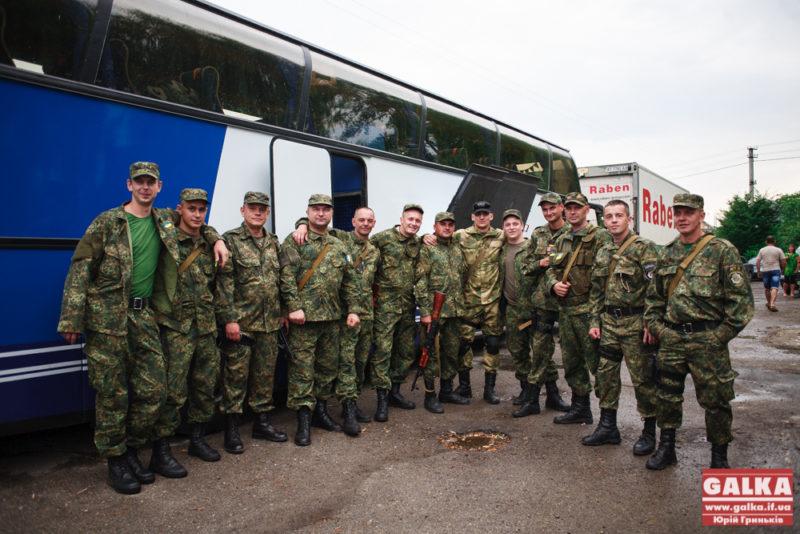 Відправлення, військові, міліціонери, батальйон Івано-Франківськ, Маріуполь, АТО-8473