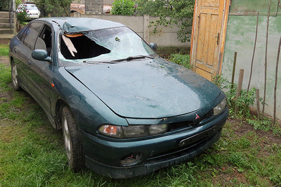 Правоохоронці затримали водія-втікача, який збив велосипедиста в Галичі (ФОТО)