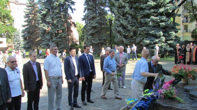 У Франківську відзначили День скорботи і пам'яті жертв війни