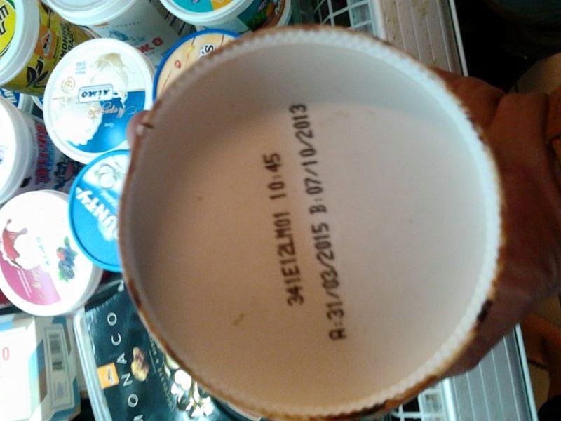У франківському супермаркеті продають морозиво, яке вже три місяці як протерміноване (ФОТОФАКТ)