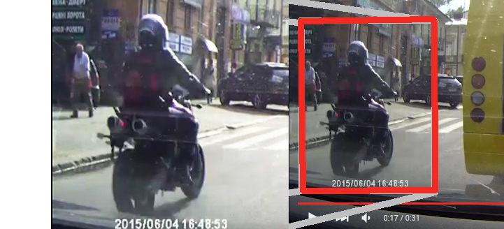 ДАІ шукає мотоцикліста, який збив дитину і втік (ВІДЕО)