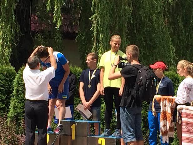 Івано-франківські спортсмени здобули нагороди на всеукраїнському чемпіонаті з плавання, який проходив у них вдома